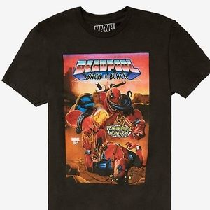 Deadpool Back in Black Men's Shirt